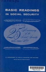Basic Readings In Social Security Book PDF