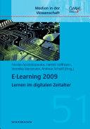 E Learning 2009 PDF
