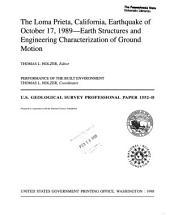 The Loma Prieta, California, earthquake of October 17, 1989: Part 4