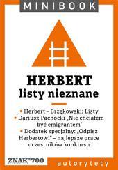 Herbert [listy nieznane]. Minibook
