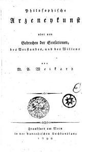 Der philosophische Arzt: Dritter Band, Band 3
