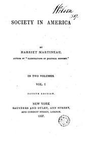 Society in America: Volume 3