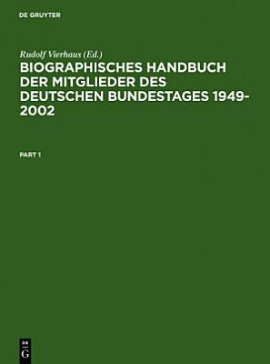 Biographisches Handbuch der Mitglieder des Deutschen Bundestages 1949 2002 PDF