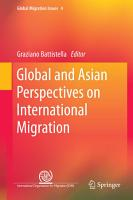 Global and Asian Perspectives on International Migration PDF