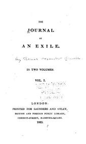 The Journal of an Exile ...