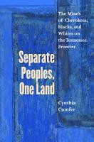 Separate Peoples  One Land PDF