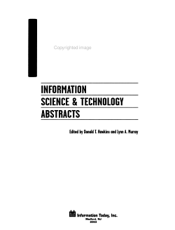 Documentation Abstracts PDF
