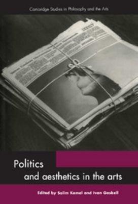 Politics and Aesthetics in the Arts PDF
