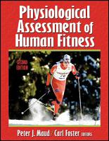 Physiological Assessment of Human Fitness PDF