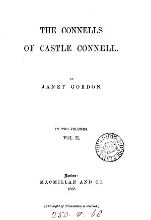 The Connells of Castle Connell PDF