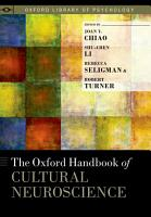 The Oxford Handbook of Cultural Neuroscience PDF