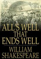 All s Well That Ends Well PDF