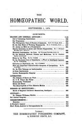 The Homoeopathic World: Volume 14