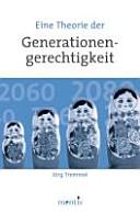 Eine Theorie der Generationengerechtigkeit PDF