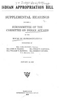 Indian Appropriation Bill PDF