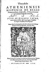 Historiae de bello peloponnesiaco, libri octo