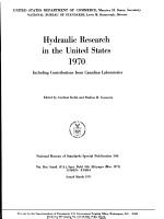 Hydraulic Research in the United States 1970 PDF