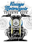 Vintage Motercycle Coloring Book