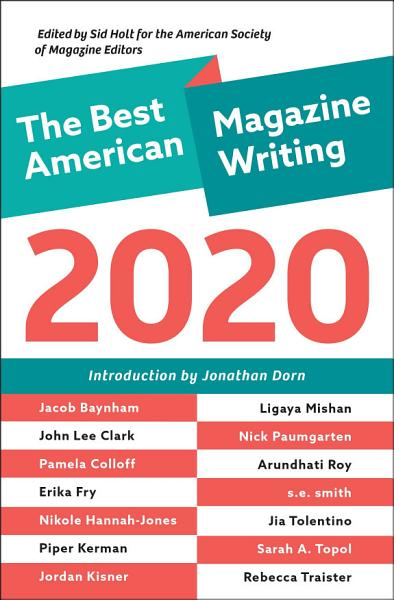 Download The Best American Magazine Writing 2020 Book
