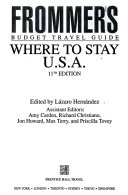 Frommer s Where to Stay U  S  A  PDF