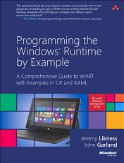 Programming the Windows Runtime by Example PDF