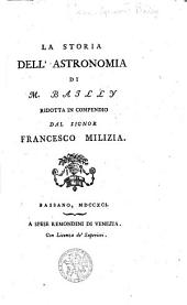 La storia dell'astronomia di M. Bailly
