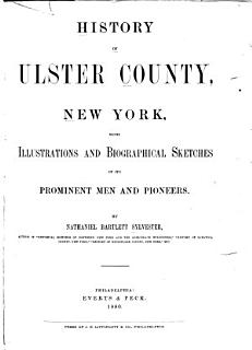 History of Ulster County  New York Book