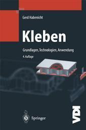 Kleben: Grundlagen, Technologien, Anwendungen, Ausgabe 4