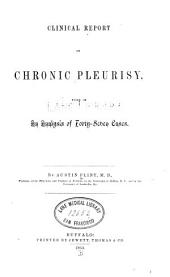 Clinical report on chronic pleurisy
