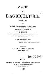 Annales de l'agriculture francoise. Red. par ... Tessier: Volume5;Volume13
