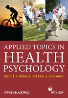 Applied Topics in Health Psychology PDF