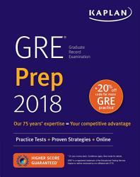 Gre Prep 2018 Book PDF