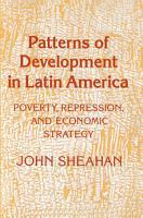 Patterns of Development in Latin America PDF