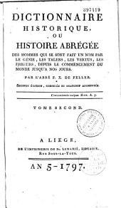 Dictionnaire historique: Volume16