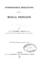 Autobiographical Recollections of the Medical Profession PDF