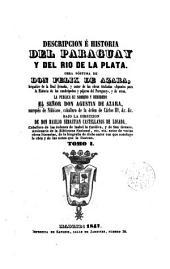 Descripción e historia del Paraguay y del Río de la Plata: Volumen 1