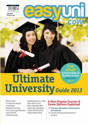 EASYUNI Ultimate University Guide 2013 PDF