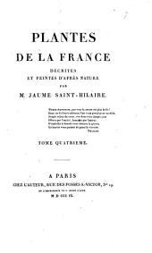 Plantes de la France: décrites et peintes d'après nature