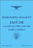 Jaguar Mk 2  3  4  3  8 and 340  Spare Parts Catalogue  1959 1969