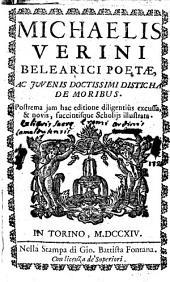 Michaelis Verini ... Disticha de moribus: Issue 4