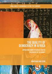 The Quality of Democracy in Africa PDF