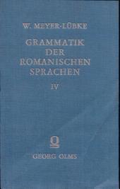 Grammatik der Romanischen Sprachen: Band 1