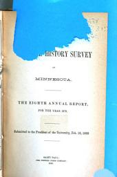 Annual Report - Geological and Natural History Survey of Minnesota: Volumes 8-9