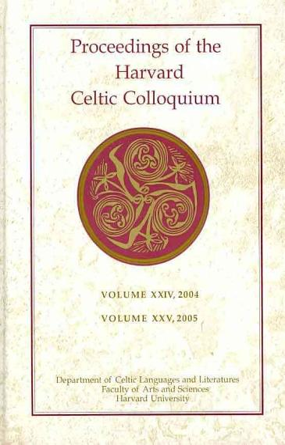 Proceedings of the Harvard Celtic Colloquium PDF