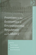 Frontiers in the Economics of Environmental Regulation and Liability PDF