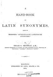 A Handbook of Latin Synonymes