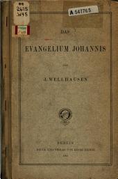 Das Evangelium Johannis