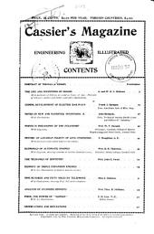 Cassier's Magazine: Volume 3