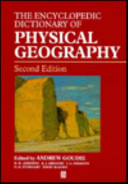 Encyclopedic Dictionary of Physical Geography PDF
