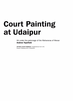 Court Painting at Udaipur PDF